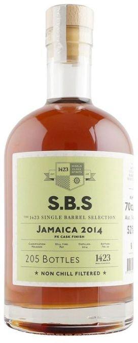 Rum S.B.S Jamaica 6y 2014 0,7l 52% / Rok lahvování 2020