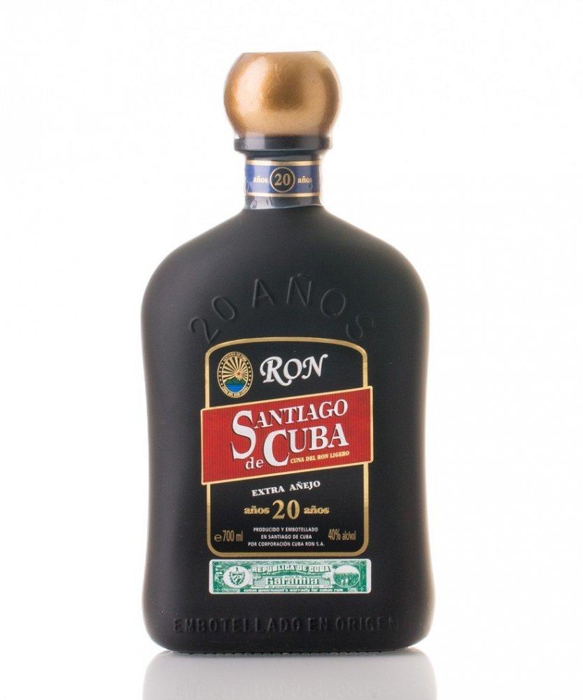 Rum Santiago De Cuba 20y 0,7l 40%