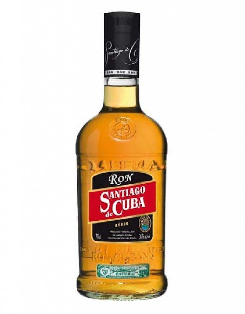Rum Santiago De Cuba Anejo 0,7l 38%
