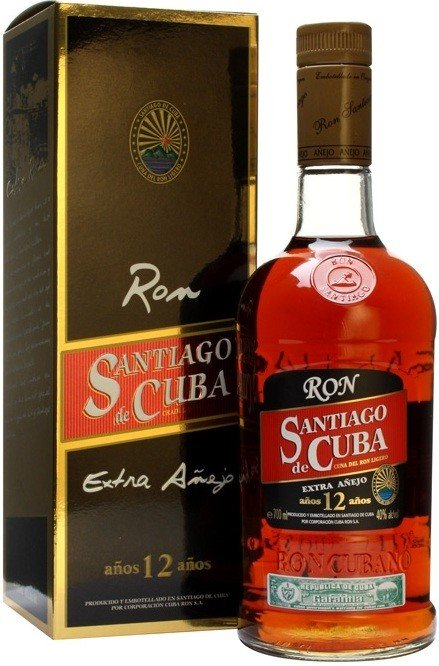 Rum Santiago De Cuba Extra Anejo 12y 0,7l 40%
