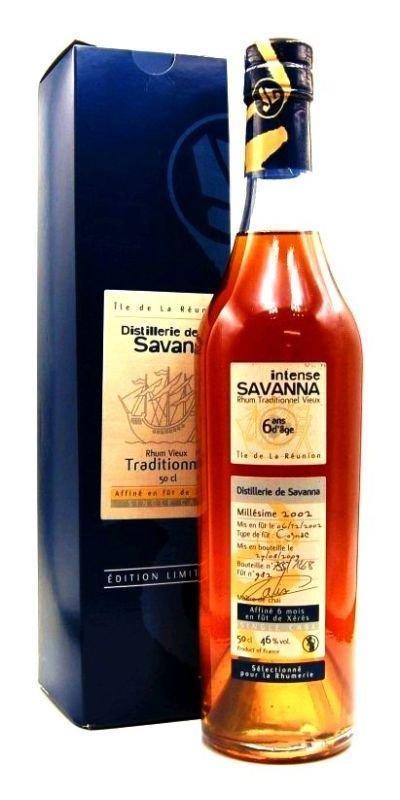 Rum Savanna Xérés No. 982 6y 2002 0,5l 46% GB L.E. / Rok lahvování 2009