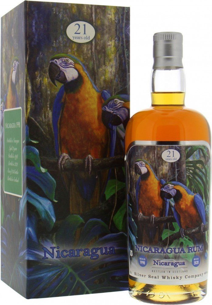 Rum Silver Seal Nicaragua Rum 21y 1998 0,7l 49,8% GB / Rok lahvování 2020