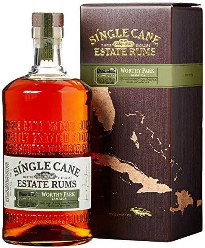 Rum Single Cane Estate Rums Worthy Park 1l 40% GB
