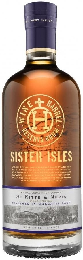 Rum Sister Isles Moscatel 0,7l 45% GB