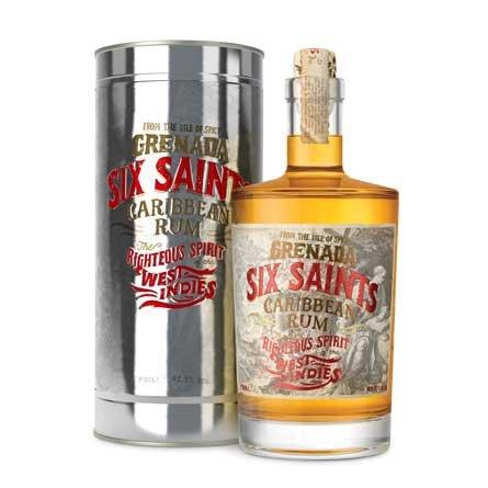 Rum Six Saints Rum 0,7l 41,7% Plech