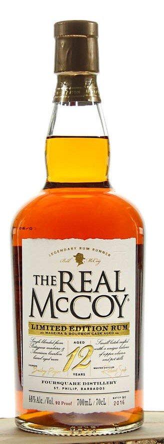 Rum The Real McCoy 12y 0,7l 46% L.E.