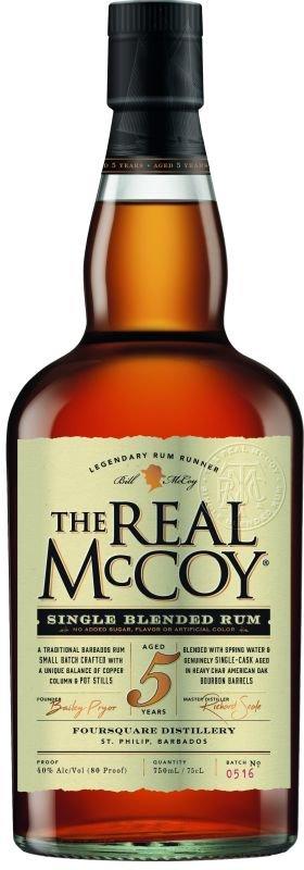 Rum The Real McCoy 5y 0,7l 40%