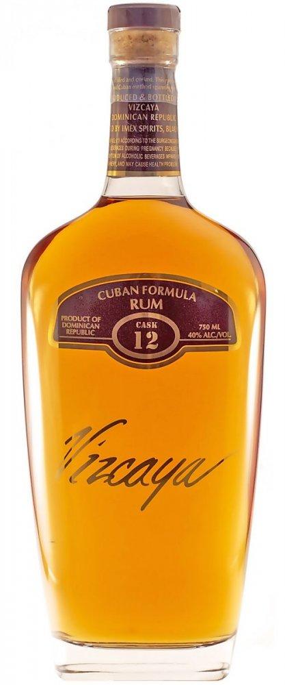 Rum Vizcaya Cask Rum 12y 0,7l 40%