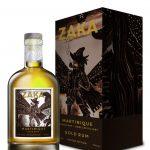 Rum Zaka Martinique Gold Rum 0,7l 42% Papír Sklo